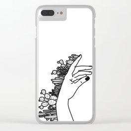 Succi Finger Clear iPhone Case