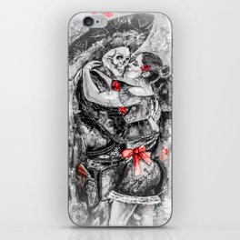 Un Ultimo Baile Pop-Red Version iPhone Skin