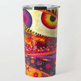 """GeminEye"" by Aly Stinson Travel Mug"