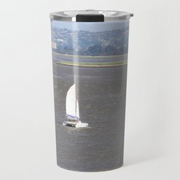 *Sailing into Launceston Tasmania* Travel Mug