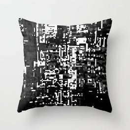 now and then. det. 1a Throw Pillow