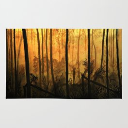 Fire Forest Rug