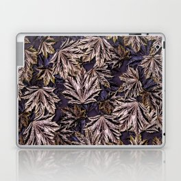 Emerging Crimson Sentry Norway Maple Leaves Laptop & iPad Skin