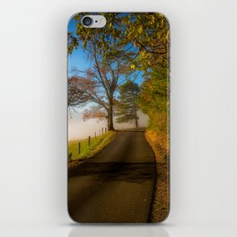 Smoky Morning - Whimsical Scene in Great Smoky Mountains iPhone Skin