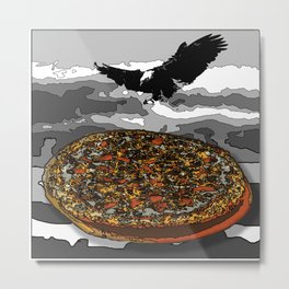 Eagelpizza Metal Print