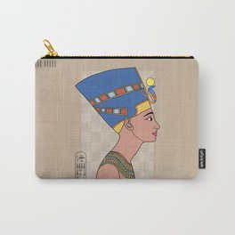 Queen Nefertiti Carry-All Pouch