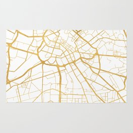 MANCHESTER ENGLAND CITY STREET MAP ART Rug