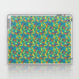 Paradise Tango in Teal Laptop & iPad Skin
