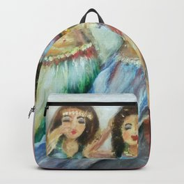 Three Bellydancers Backpack