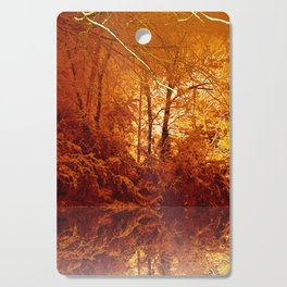 Snow Gold Woods 3.5 Cutting Board