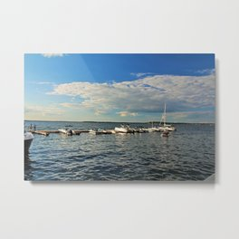 Mid-afternoon on Lake Mendota Metal Print
