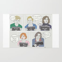 The Breakfast Club Quotes Rug