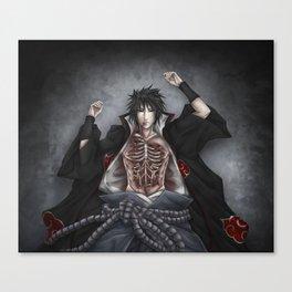 Sasuke Uchiha -- Empty Canvas Print