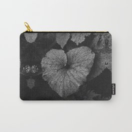Grey Grey Heart Carry-All Pouch