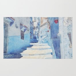 Mediterranean journey-Morocco Rug