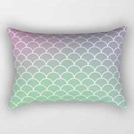 Mermaid under the Sea Rectangular Pillow