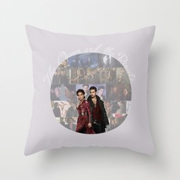 The Queen and the Pirate Throw Pillow
