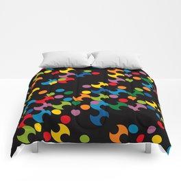 DOTS - polka 2 Comforters