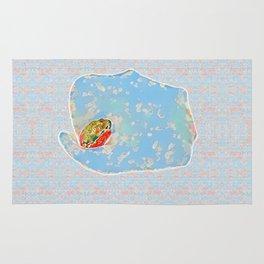 Flower Frog Rug