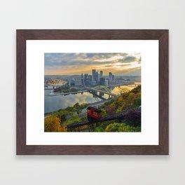 Pittsburgh Sunrise Framed Art Print