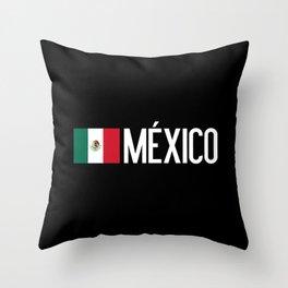 Mexican Flag & México Throw Pillow