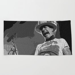 Ahead by a Century - Gord Downie Tragically Hip Beach Towel