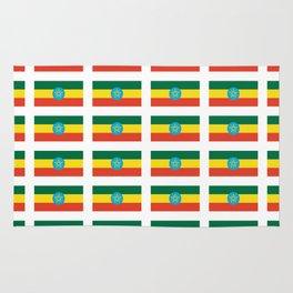 flag of Ethiopia 2-ኢትዮጵያ, የኢትዮጵያ ,Amharic,  Ethiopian, Addis Ababa. Rug