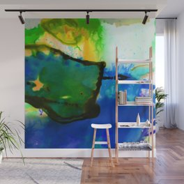 Abstract Bliss 4I by Kathy Morton Stanion Wall Mural