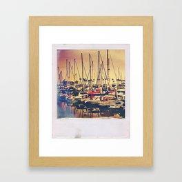 Boats, Boats, Boats Framed Art Print