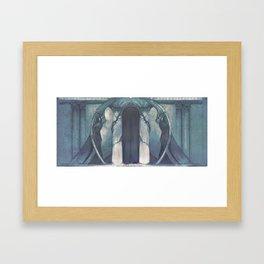ENTRANCE OF FURNACE PENITENTIARY Framed Art Print