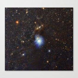 Young Star, Reflection Nebula IC 2631 Canvas Print