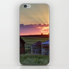 Home Town Sunset iPhone Skin