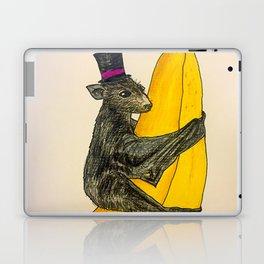 Banana Bat Wearing a Hat Laptop & iPad Skin