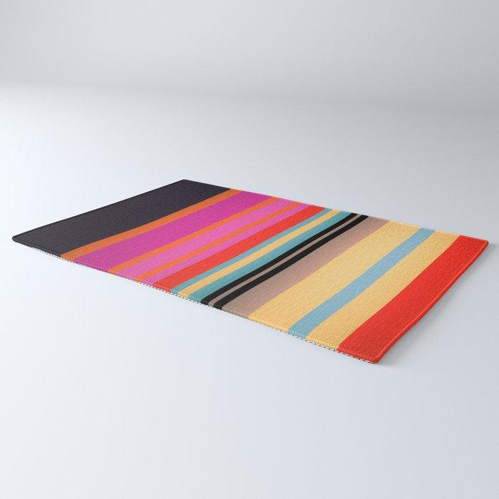 Sunset Stripes Rug