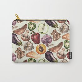 Food Pattern Carry-All Pouch