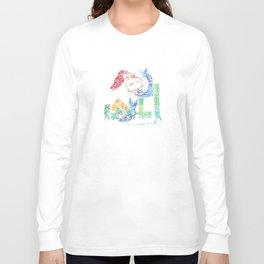 City mermaids Long Sleeve T-shirt