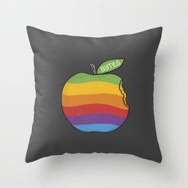 Bytes Throw Pillow