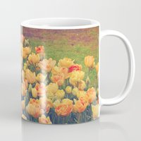 tulips Mugs featuring Tulips  by Juliana RW