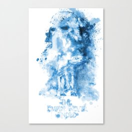 The Empire Never Ended - Snowtrooper and Walker Canvas Print