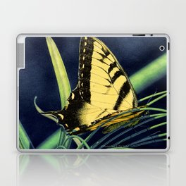 Yellow Tiger Swallowtail Butterfly A125 Laptop & iPad Skin