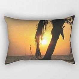Anna Maria Island Sunset Rectangular Pillow