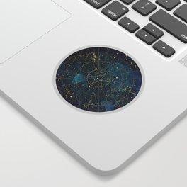 Star Map :: City Lights Sticker