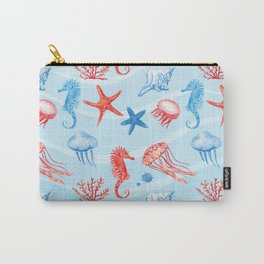 Marine Pattern 09 Carry-All Pouch