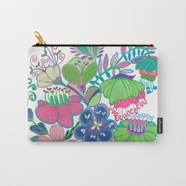 Fantasy Floral Carry-All Pouch