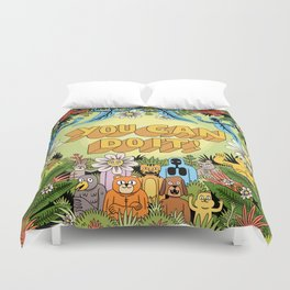 YOU CAN DO IT! Duvet Cover