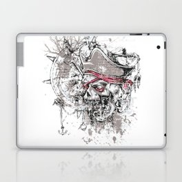 Skull Pirate - arrr, matey! Laptop & iPad Skin
