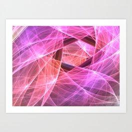 Veils Art Print