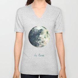 La Lune Unisex V-Neck