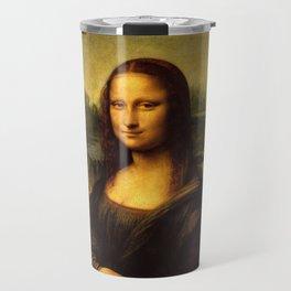 Mona Lisa - Leonardo da Vinci Travel Mug