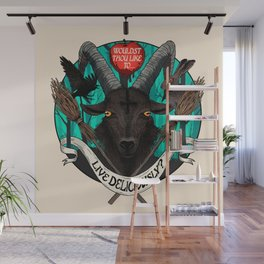 Black Phillip (The Witch) Wall Mural
